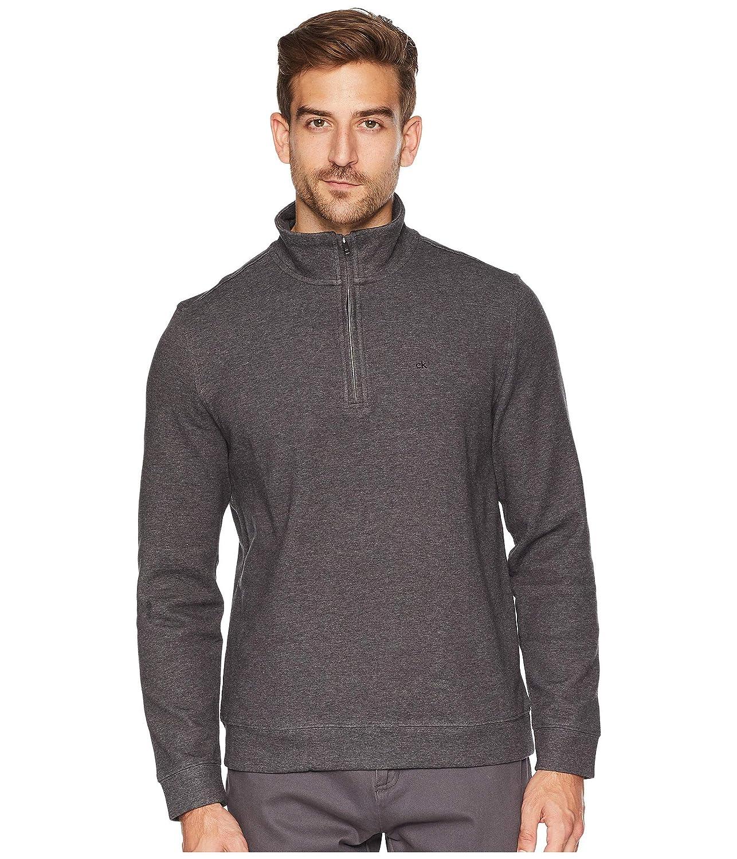 9f4c6c8939630 Calvin Klein Men s Classic Quarter Zip Sweater at Amazon Men s Clothing  store