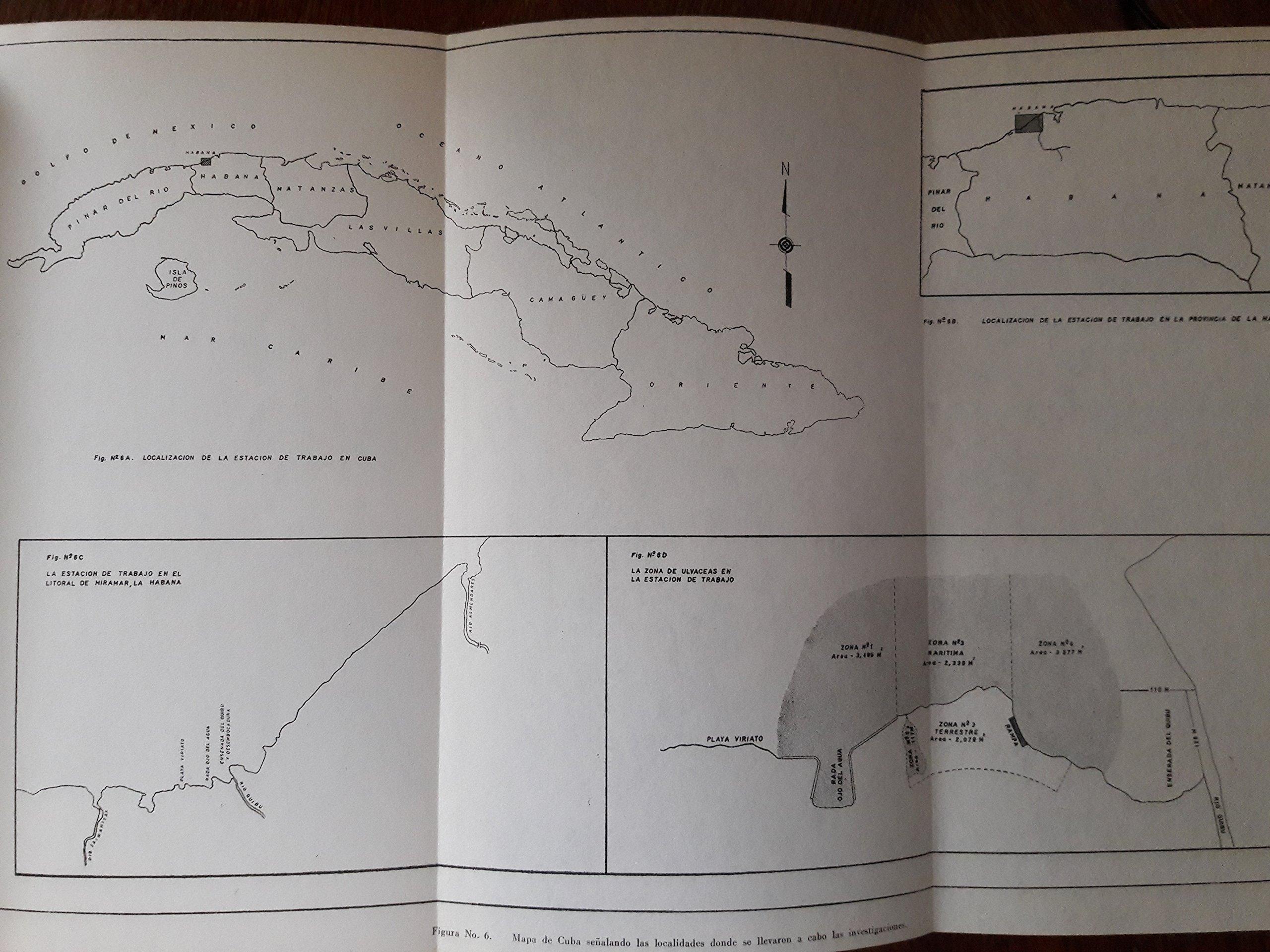 Taxonomia, ecologia y valor nutricional de algas marinas cubanas, II utilizacion de algas en alimentacion de aves.: Amazon.com: Books