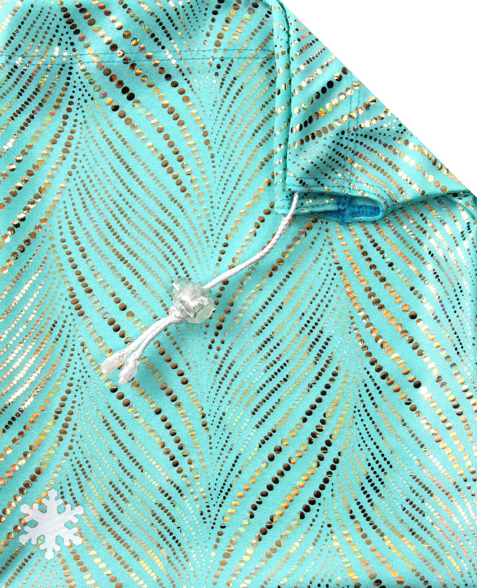 Snowflake Designs Mint Finesse Gymnastics Grip Bag