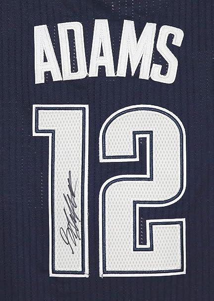 innovative design 94786 aa084 Steven Adams Oklahoma City Thunder Signed Autographed Dark ...