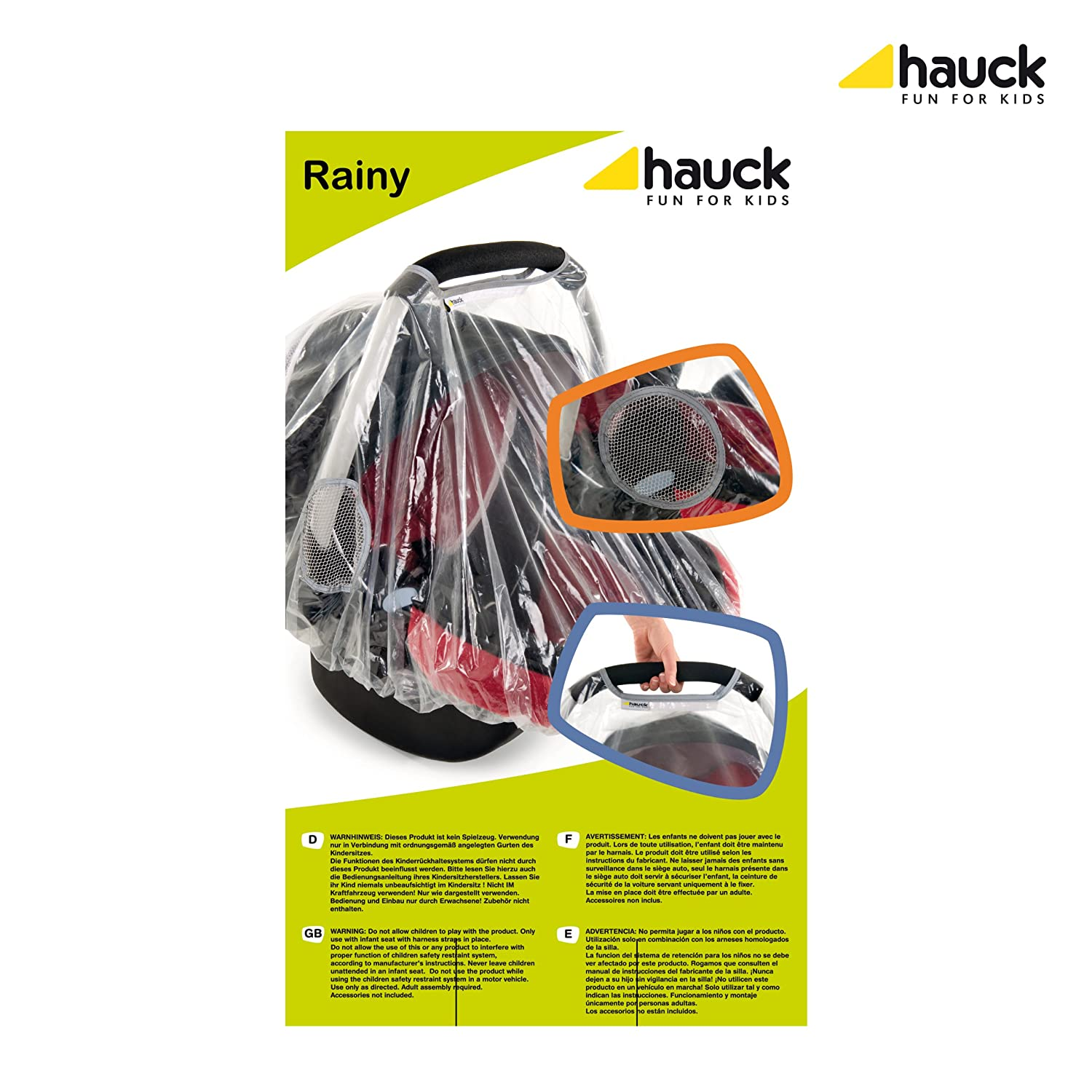 Hauck Rainy Group 0 Car Seat Raincover