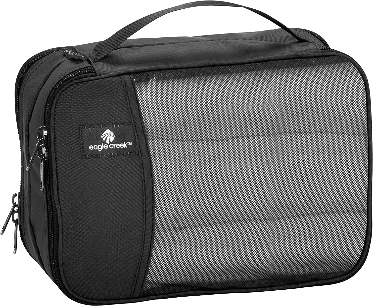 Eagle Creek Pack-It Clean/Dirty Split Half Cube Packing Organizer, Black