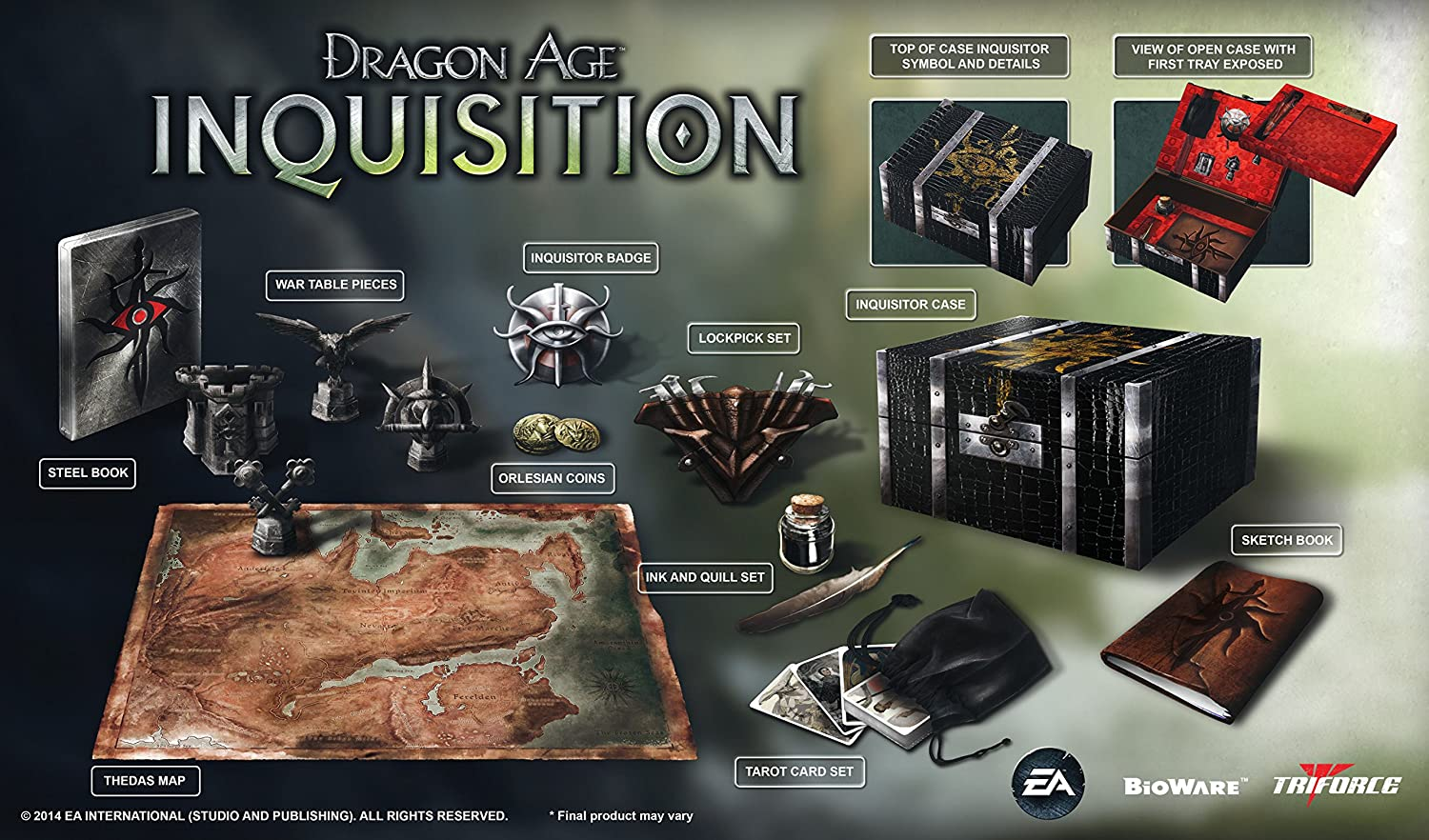 Dragon Age Inquisition Collectors Edition PlayStation 4 [Importación Inglesa]: Amazon.es: Videojuegos