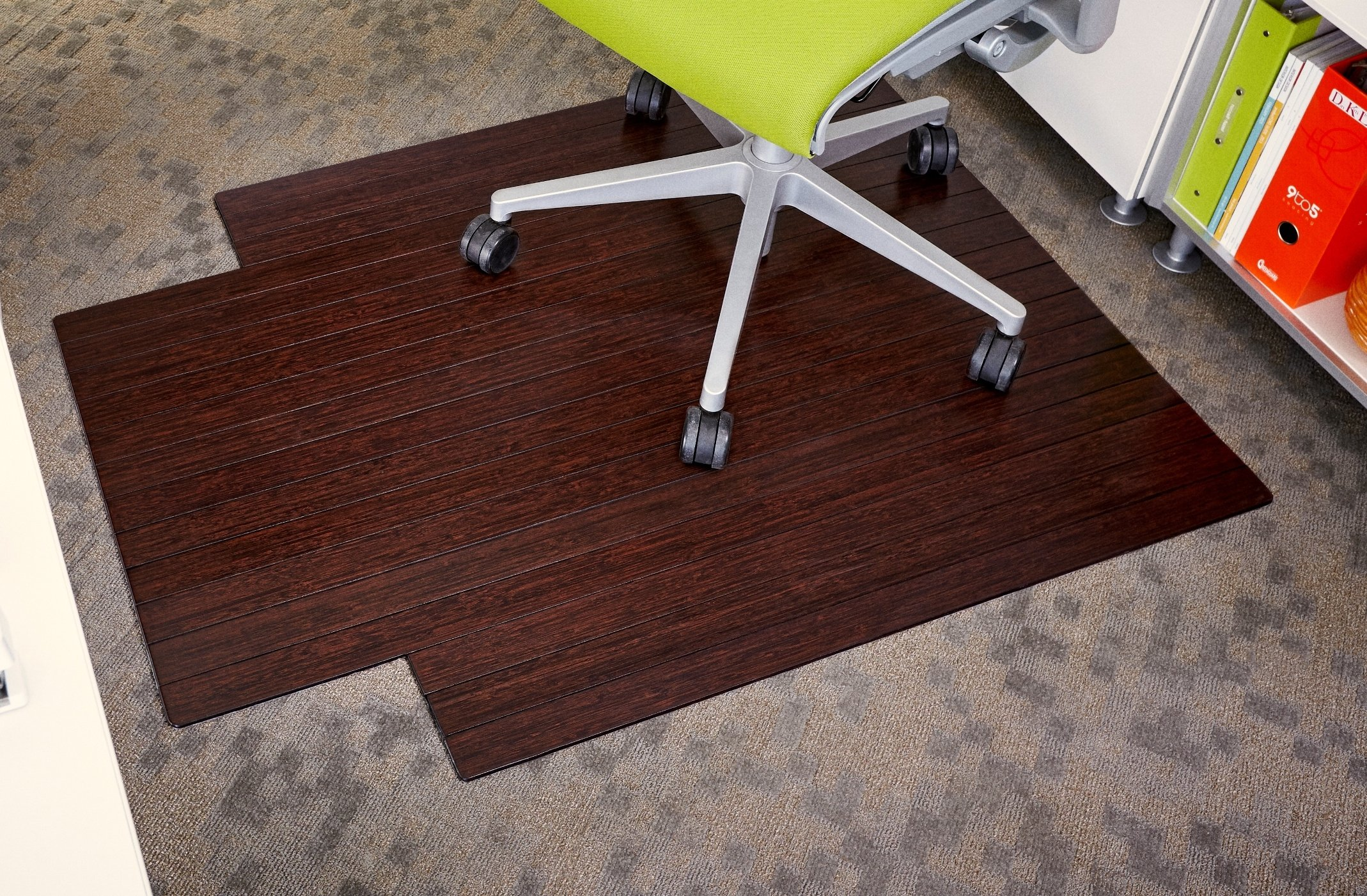Anji Mountain Bamboo Roll-Up Chair Mat by Anji Mountain