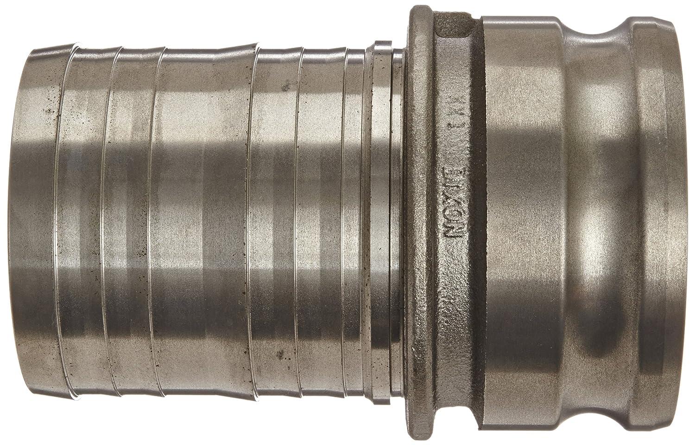 4 Plug x 4 Hose ID Push-On Dixon 400-E-MI Unplated Iron Boss-Lock Type E Cam and Groove Hose Fitting