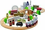 Tidlo City of London Wooden Train Set