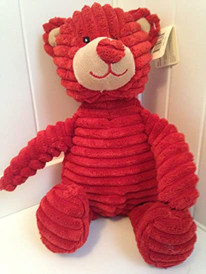 Teddy Bear Stuffed Toy, Other Plush Bears Dolls Bears Unipak Hugs And Kisses Red Kordy Bear