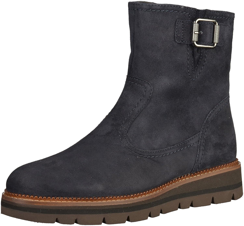 Gabor Comfort - Damen Stiefel - Blau Schuhe in Übergrößen