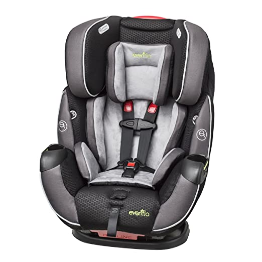 Evenflo Symphony DLX All-In-One Convertible Car Seat, Paramount