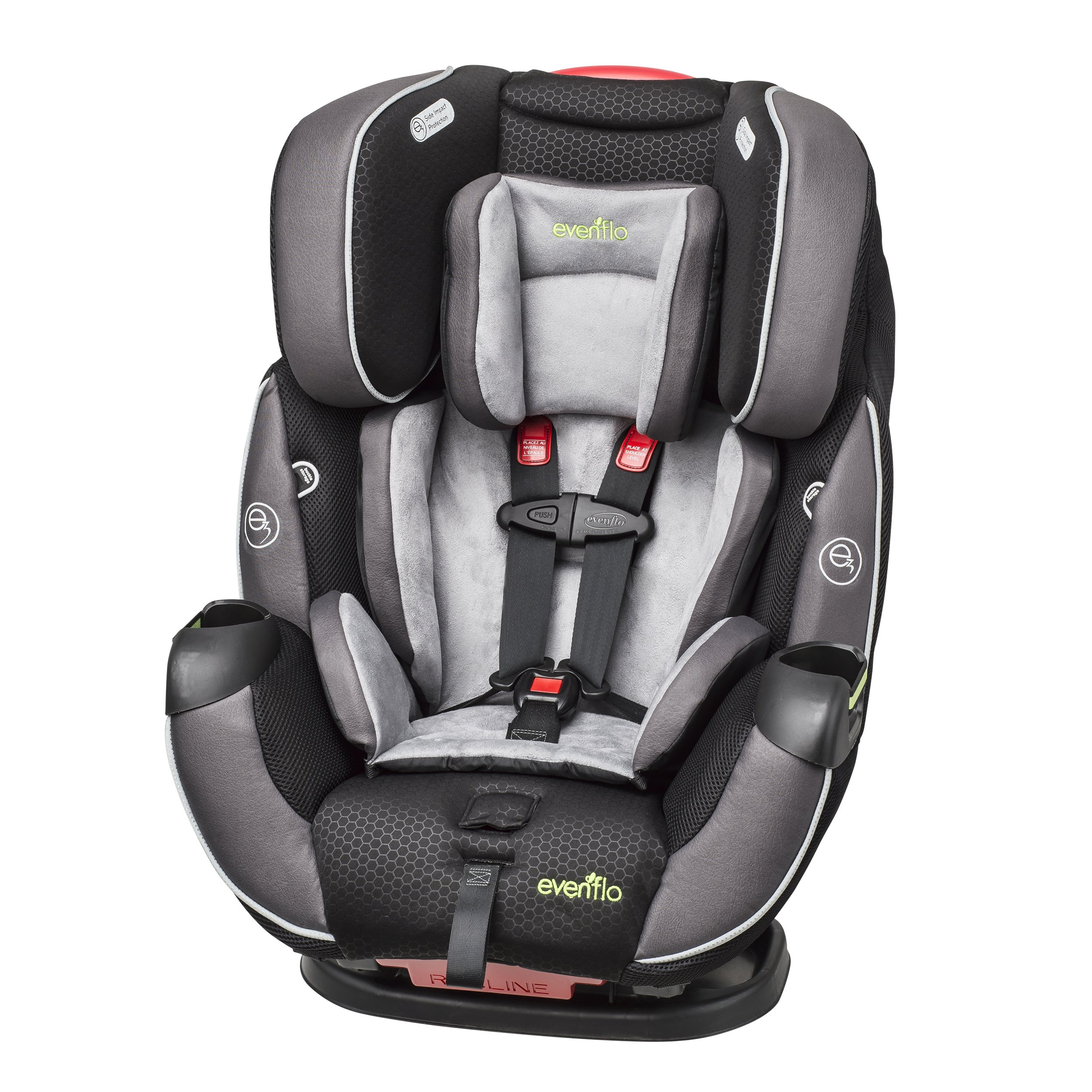 Evenflo Symphony Elite All In One Convertible Car Seat Paramount