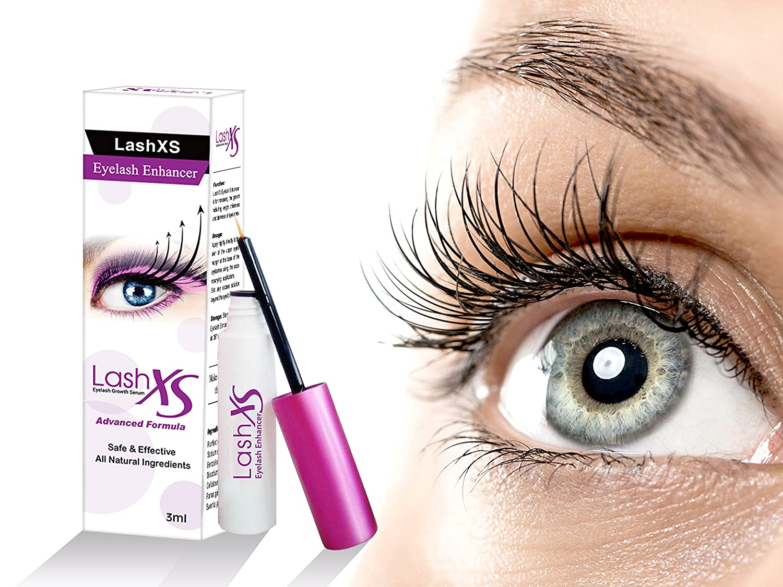 46bed98245e Amazon.com: LashXS Eyelash Serum 3ml | All Natural Advanced Treatment With  Powerful Extracts | Eyelash Enhancing Serum & Eyelash Growth Stimulator ...