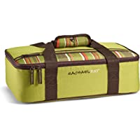 "Rachael Ray Lasagna Lugger, Insulated Casserole Carrier for Parties, Fits 9""x13"" Baking Dish, Green"