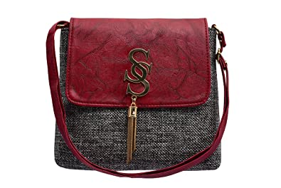 TAP FASHION Fancy Stylish Elegant Sling Side Bag Cross Body Purse for Women    Girls( 2a5bb0a659ee6