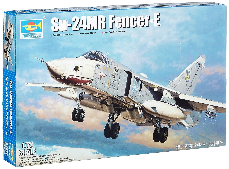 Trumpeter Model Kit - Su 24MR Fencer E Plane - 1:72 Scale - 01672 - New