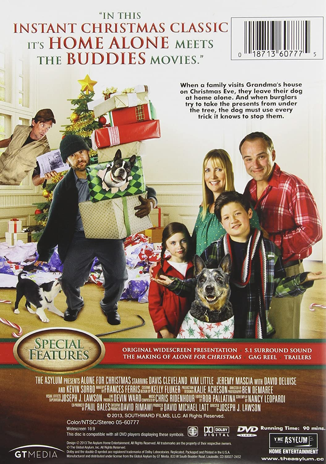 Amazon.com: Alone for Christmas: Cleveland, Kattan: Movies & TV
