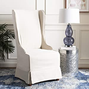 Safavieh Mercer Collection Stella Slip Cover for Side Chair, Ivory