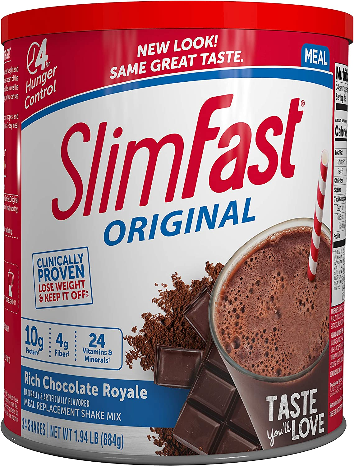 powder slim fast meal replacement diet