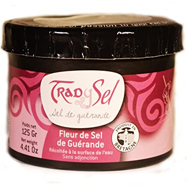 Fleur De Sel From Guerande 125 G Amazon Co Uk Grocery