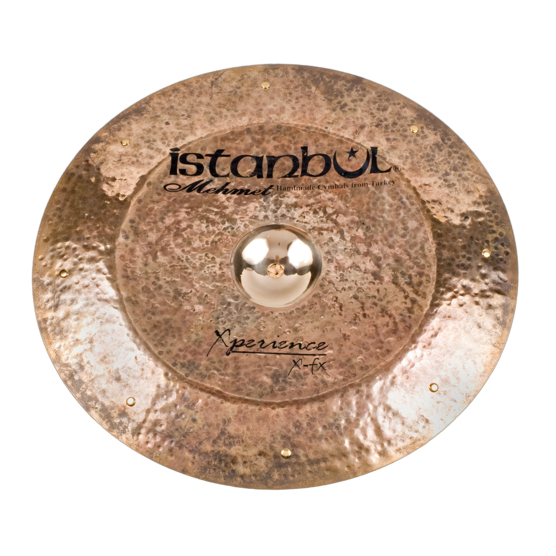 Istanbul Mehmet Cymbals X-Perience Series XXFX-ZENG14 14-Inch X-Cast Zeng China Sizzle
