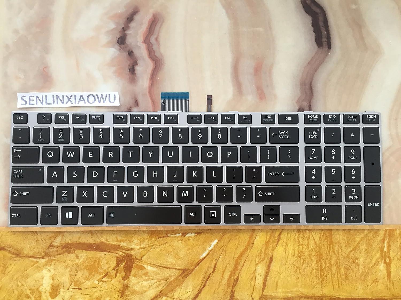 Original New for Toshiba Satellite S75DT-A S75DT-B U50DT-A US Backlit Keyboard
