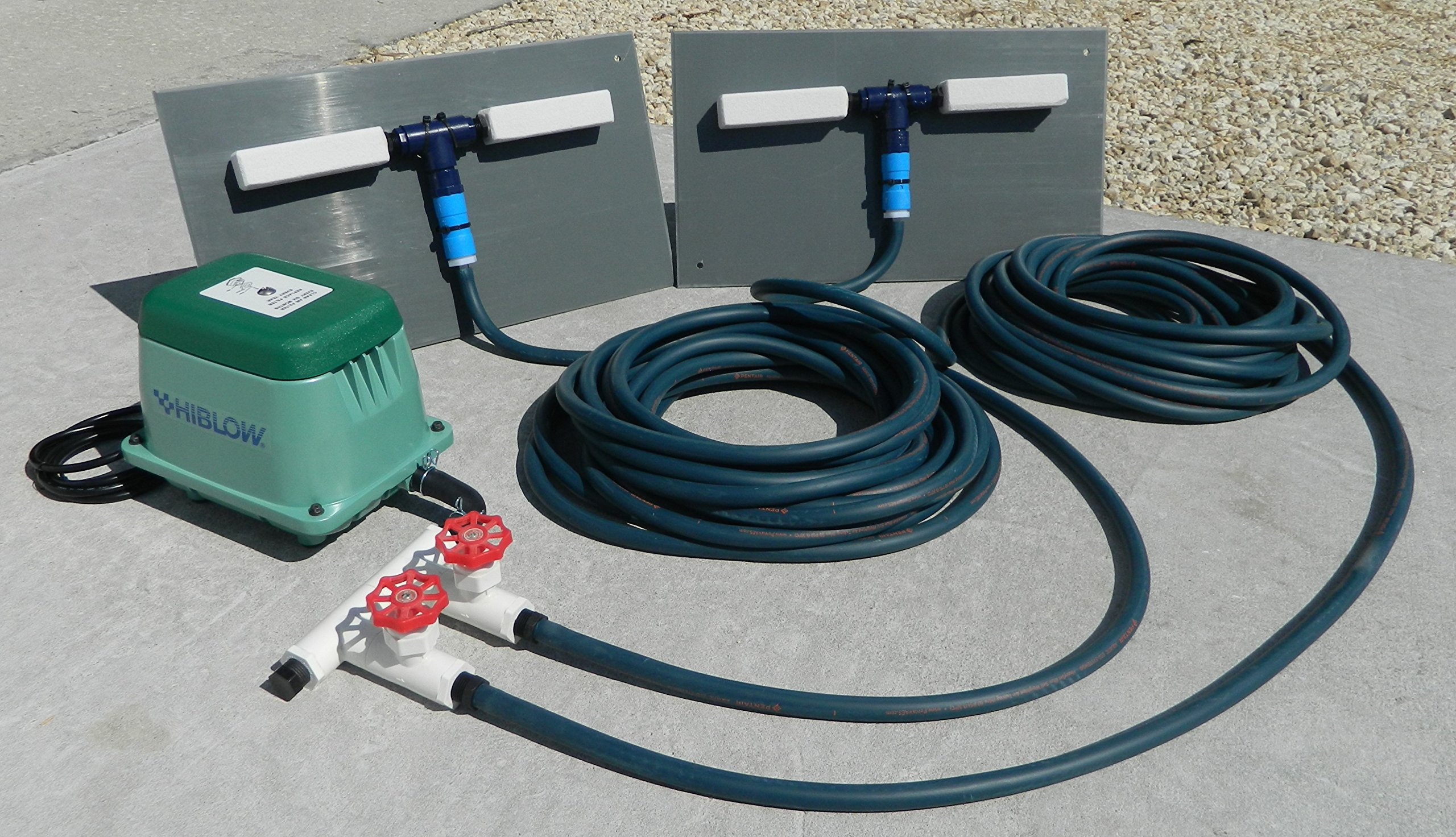Model #ADS80 Air Diffuser System for Koi Ponds and Water Gardens by: Bubblemac Industries Inc.