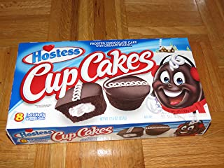 product image for Hostess Cup Cakes, 8 individually wrapped cakes, 12.7oz