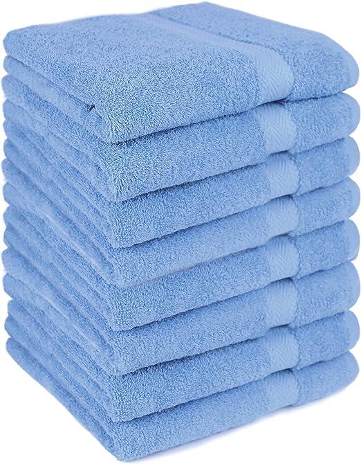Betz Paquete de 8 Toallas de Lavabo Premium 100% algodón tamaño ...
