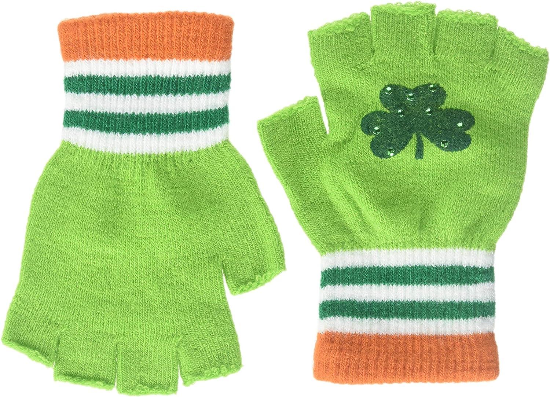 Patrick/'s Day Irish Fingerless Gloves St