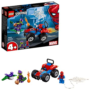 Lego 76133 Super Heroes Spider Man Car Chase Set Toy Car Spider Man