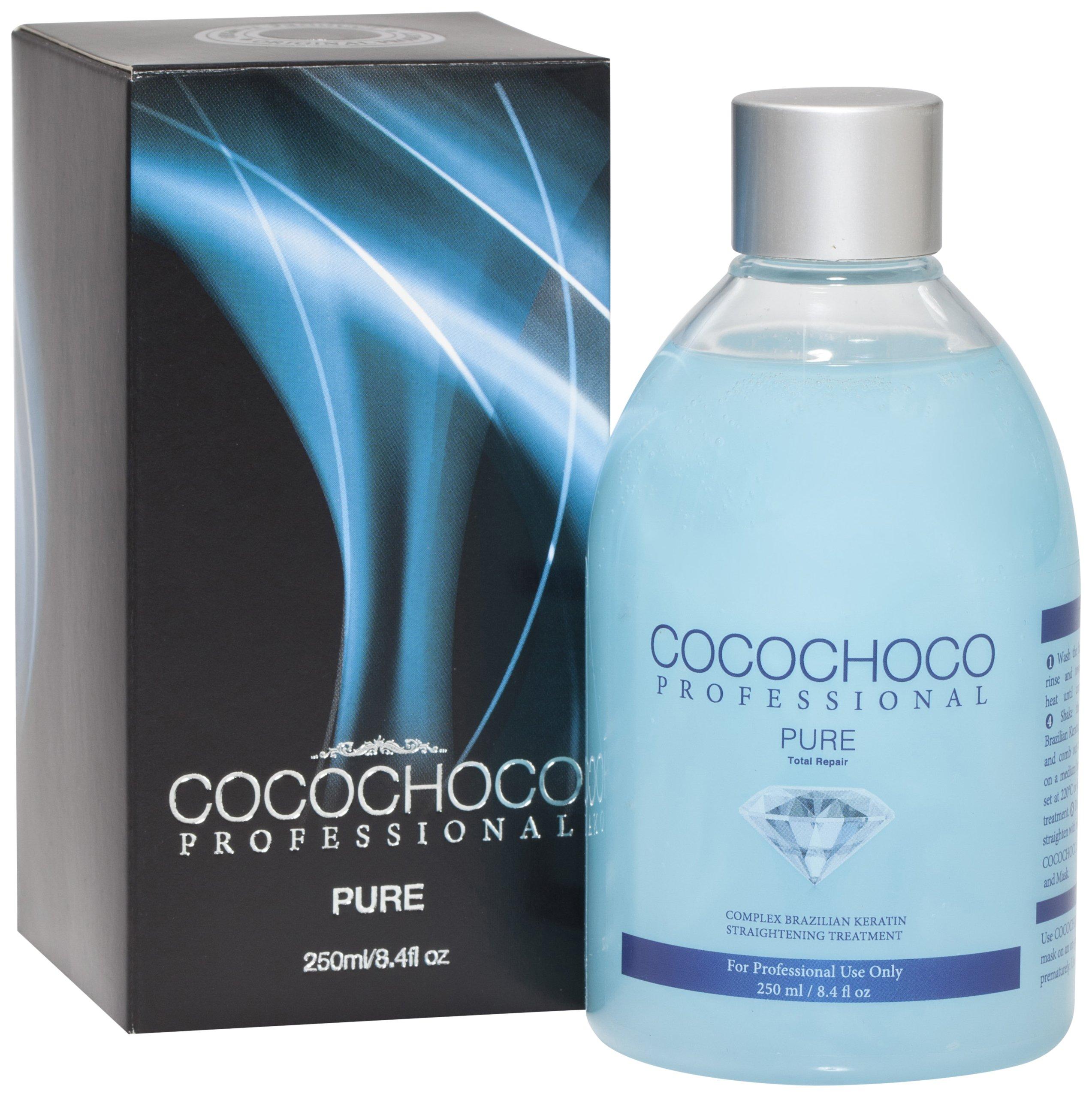 Cocochoco Professional Pure Total Repair Brazilian Keratin Hair Treatment, 250 ml