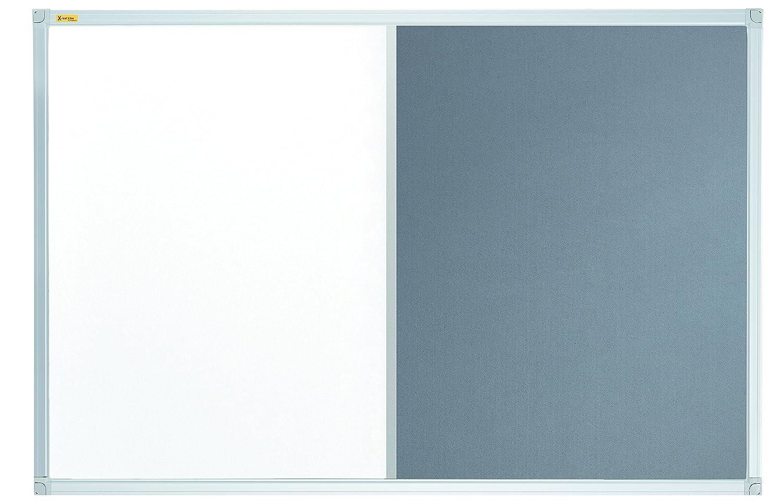 Franken feltro lavagna Lavagna combinata Alluminio Cornice con listello 60 x 45 cm (sughero) 60 x 45 cm marrone CB3412