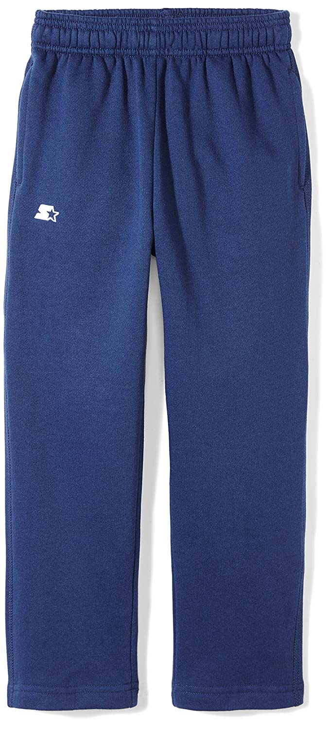Starter Boys' Open-Bottom Sweatpants with Pockets, Prime Exclusive S17FBB16