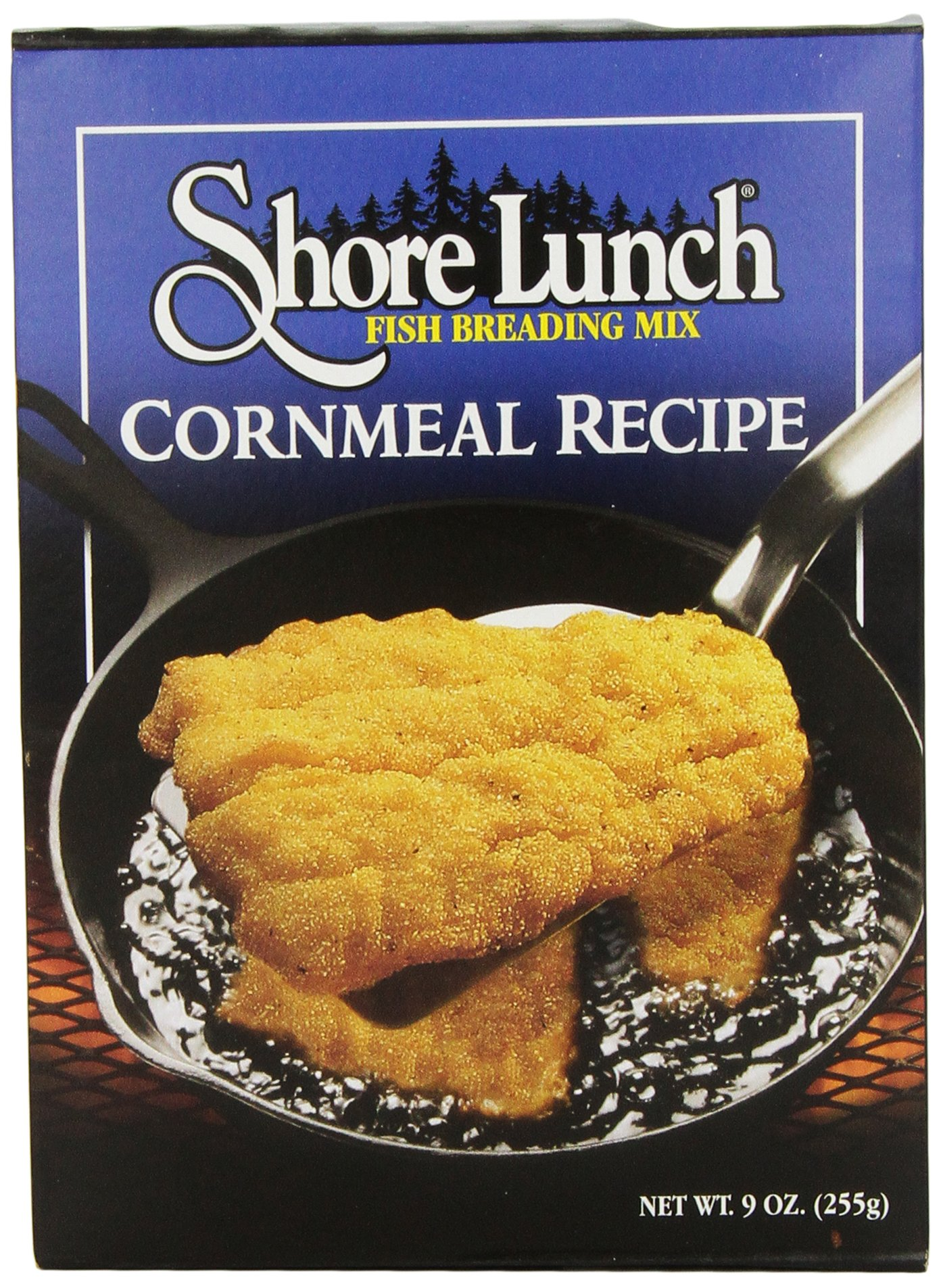 Shore Lunch Breading Mix Cornmeal Recipe, 9-Ounce (Pack of 6)