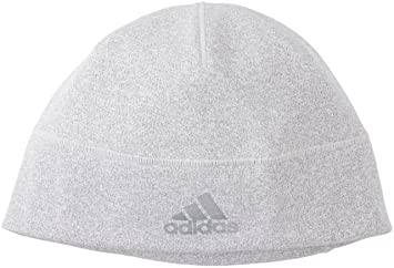 6c276c63b0d adidas ClimaHeat Beanie Hat - Grey  Amazon.co.uk  Sports   Outdoors