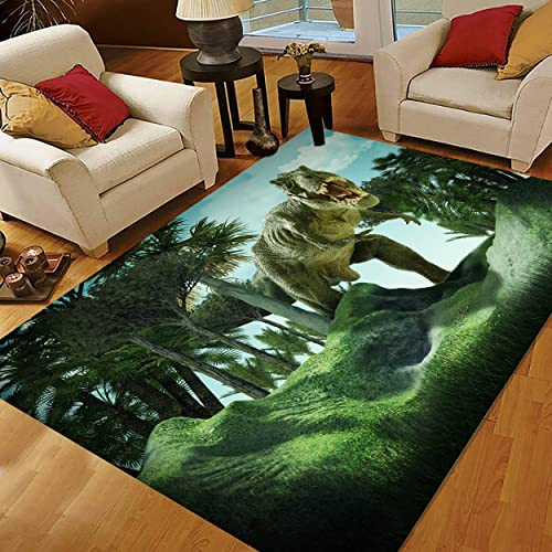 ALAZA 3D Dinosaur Rugs for Boys Bedroom, Kids Rugs for Bedroom Boys 5X7