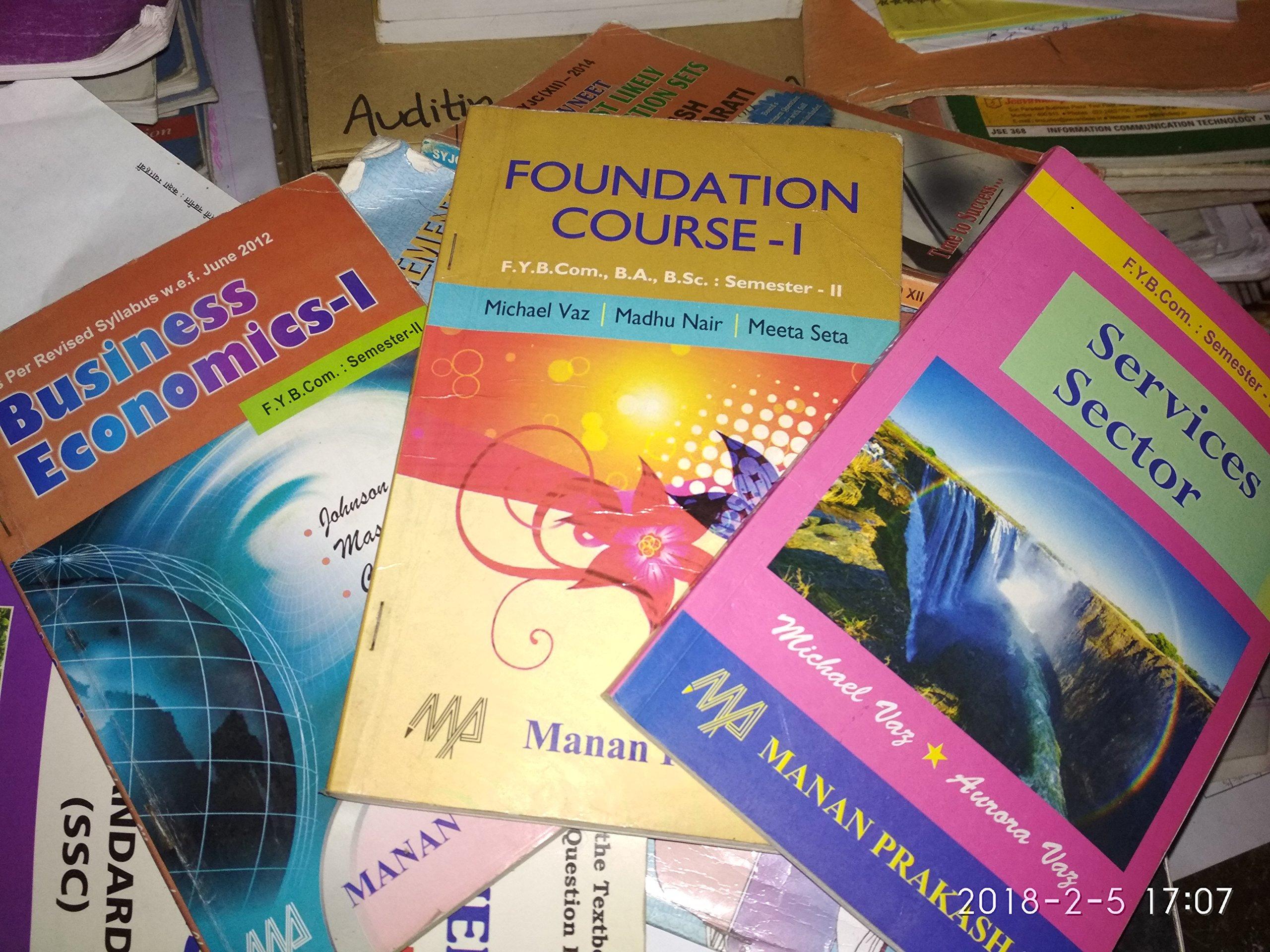 Amazon in: Buy FY Bcom Sem 2 Manan Prakashan all Textbooks(3