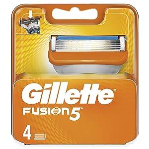 Gillette Fusion Razor Blade, 4 Count