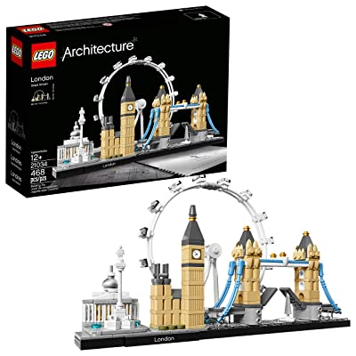 LEGO Architecture London Skyline Collection 21034 Building Set Model Kit and Gift
