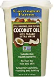 Carrington Farms Organic Coconut Oil, Unrefined, 25 Ounce