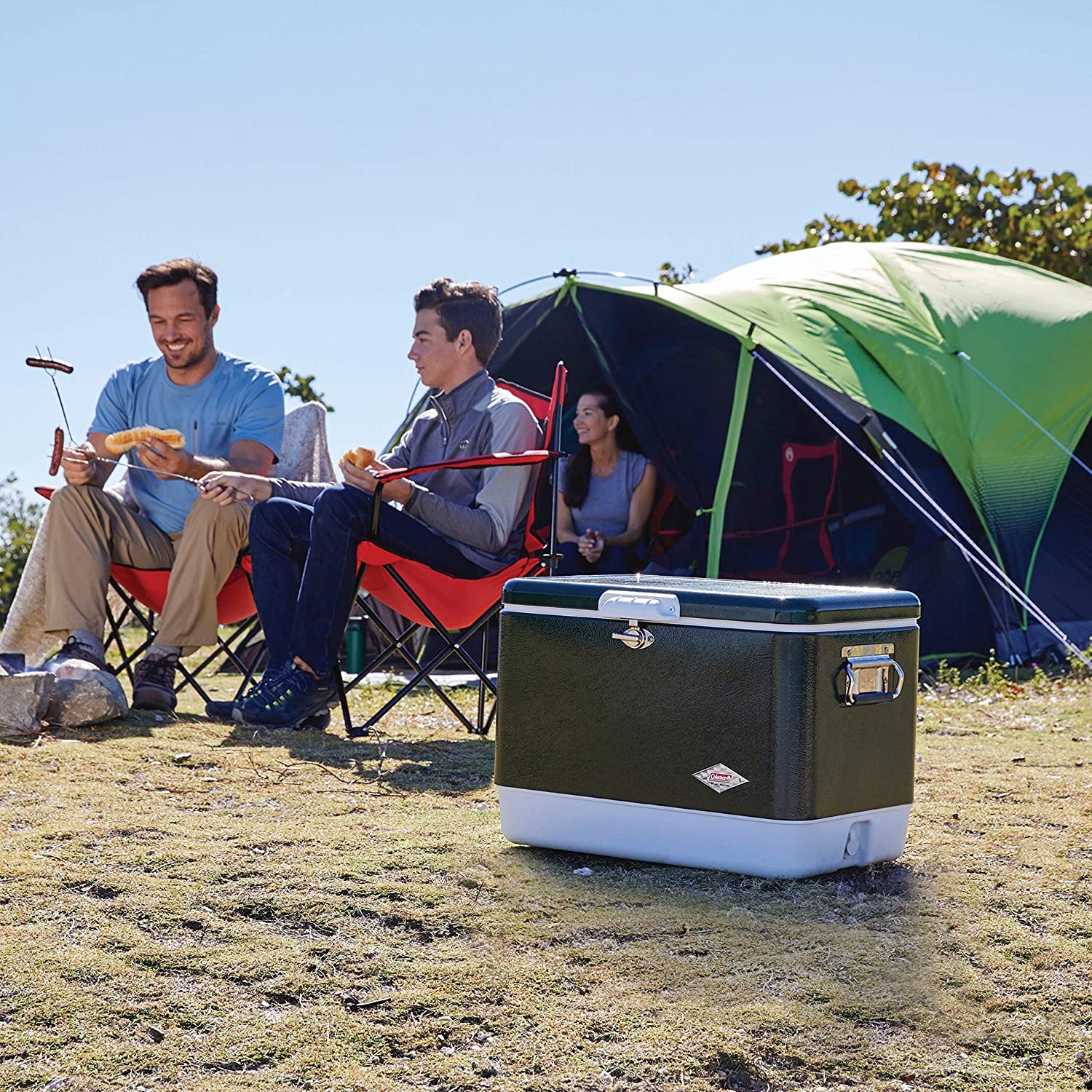 Coleman Portable Travel Cooler for Camping
