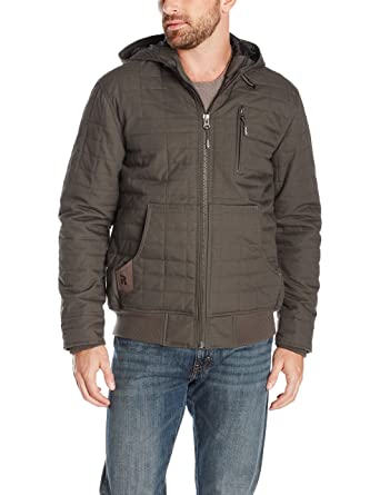 0f03c4c2 Amazon.com: Wrangler RIGGS WORKWEAR Men's Tradesman Hooded Jacket ...