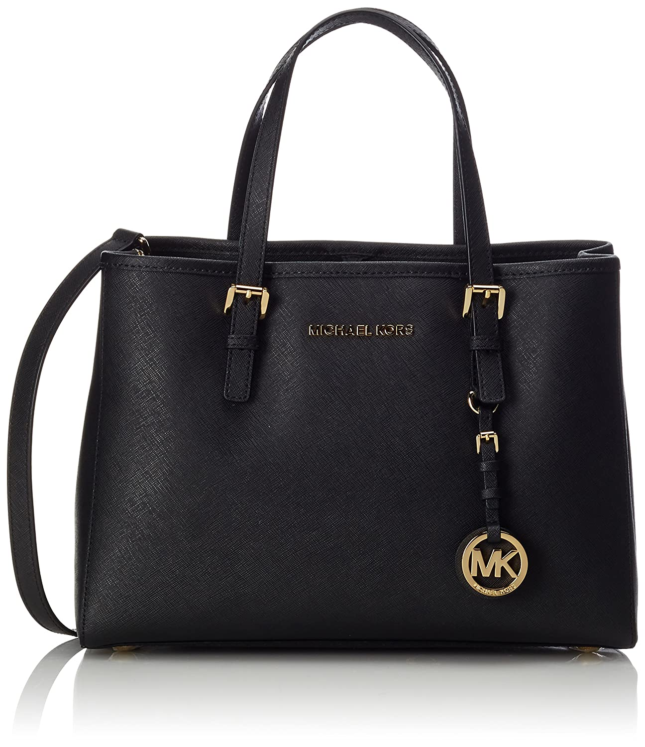 Michael Kors Womens Jet Set Travel Large Tote Black: Amazon.co.uk: Shoes \u0026  Bags