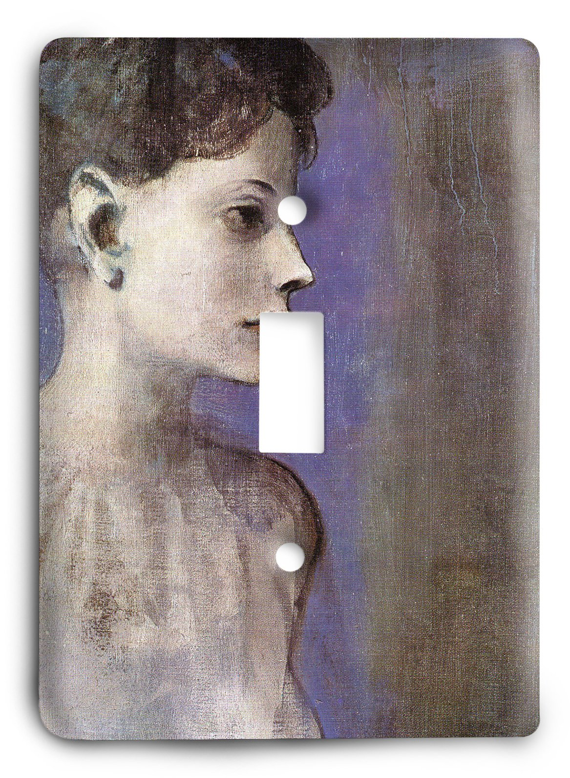 Pablo Picasso - Woman in a Chemise 1905 Light Switch Cover