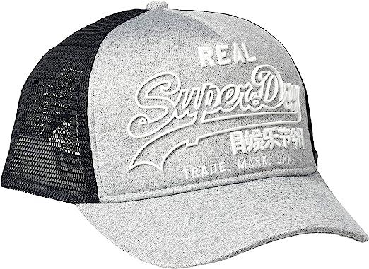 casquette superdry gris