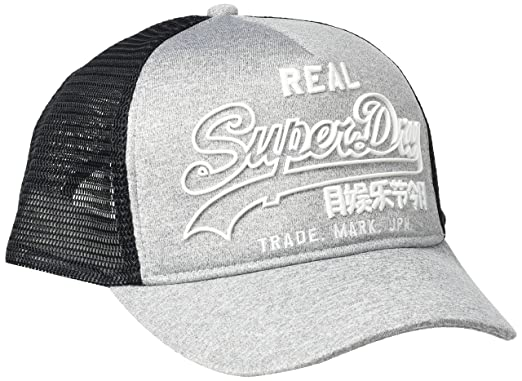 Superdry Premium Goods Outline Cap Gorra de béisbol, Gris (Grey ...