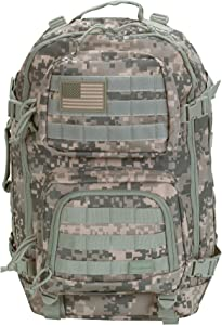 Rockland Military Tactical Laptop Backpack, ACU, Large