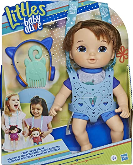"Littles by Baby Alive Littles Squad 9/"" Toddler Doll Styles May Vary Hasbro"