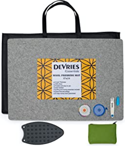 DeVries Essentials Wool Pressing Mat for Quilting 17