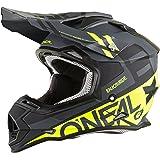 O'Neal 2SERIES Mens Off-Road SPYDE Helmet (Black/Hi-Viz, Small)