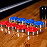Lancaster 9-Foot Shuffleboard Table with Pucks